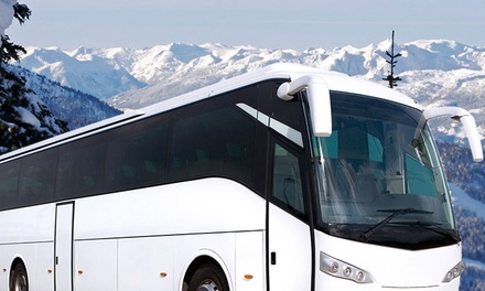 $39.99 for a Round-Trip Bus Ticket from Vancouver to Whistler from Whistler Direct Shuttle ($76 Value)