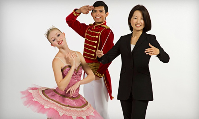 "San Antonio Symphony Presents ""The Nutcracker"" - Charline McCombs Empire Theatre: San Antonio Symphony Presents ""The Nutcracker"" at Majestic Theatre on November 29 or December 1 (Up to 51% Off)"