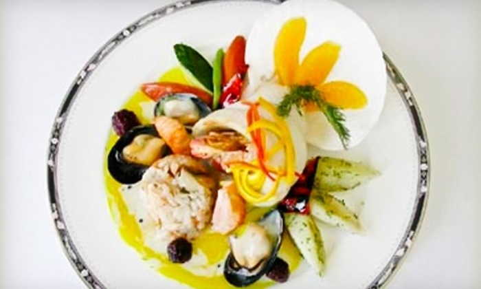 La Grotta on Main - Unionville: Italian Cuisine and Drinks for Dinner or Lunch at La Grotta on Main (Up to 52% Off)