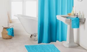 Tapis de bain et / ou rideau