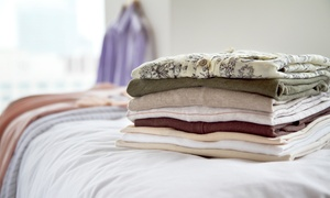 The Washouse: Laundry Service at The Washouse (Up to 60% Off). Two Options Available.
