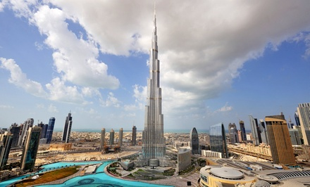 7-Day Tour of Dubai with Airfare, Accommodations, and Guided Sightseeing Tours. Price/Person Based on Double Occupancy.