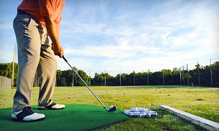 Golf Canada Calgary Centre - Alyth - Bonnybrook - Manchester: 2 or 10 Large Baskets of Driving-Range Balls at Golf Canada Calgary Centre (Up to 53% Off)
