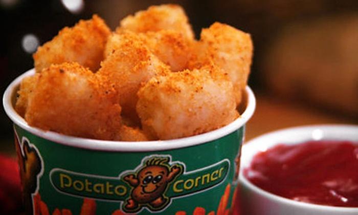 Potato Corner - Valencia Town Center: Fries, Chips, and Loaded Potatoes at Potato Corner in Santa Clarita (Half Off). Two Options Available.