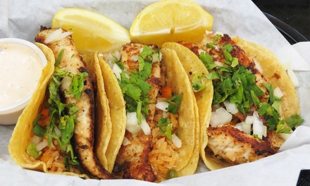 Mexican Food for Two or Four at           Tina's Cocina (40% Off)