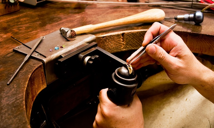 The Den - Stockyards: Build-Your-Own Ring or Money Clip Workshop for One or Two at The Den (Up to 59% Off)