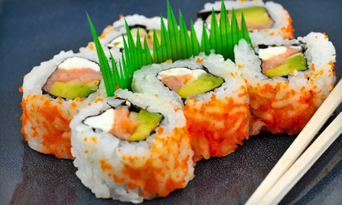 A-Chiban Sushi Cafe - Glen Oaks: Sushi at A-Chiban Sushi Cafe (Half Off). Two Options Available.