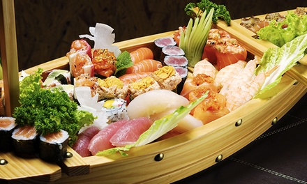 1 ou 2 bateaux de sushis, makis et california makis pour 2 ou 4 dès 19,90 € chez New Osaka à Montorgueil