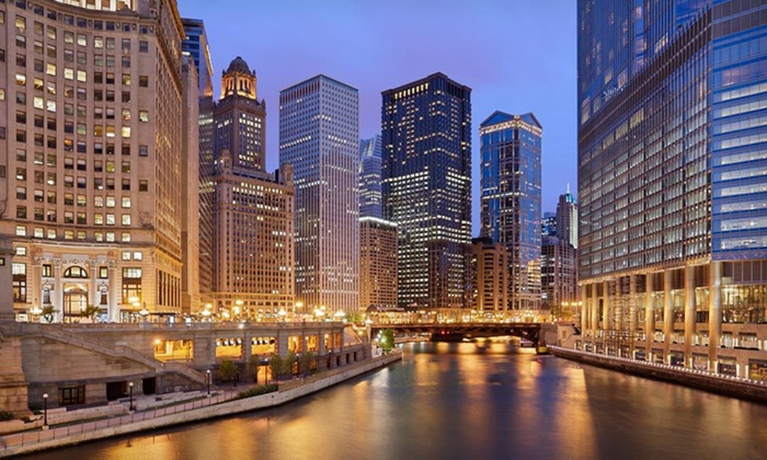 null - Chicago: One-Night Stay at DoubleTree by Hilton Hotel Chicago - Magnificent Mile in Chicago, IL