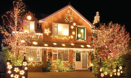 Holiday Light Installation for a One- or Two-Story Home from Wilkerson's Handyman Service (Up to 78% Off)