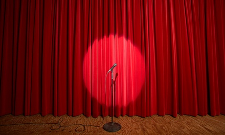 Pure Comedy Variety Show for One or Two with Popcorn and Soda at the Historic Owen Theatre (Up to 48% Off)