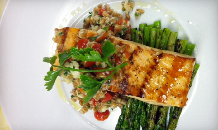 Carousel Grille - Warwick: $15 for $30 Worth of Seafood, Sandwiches, and Drinks at Carousel Grille in Warwick