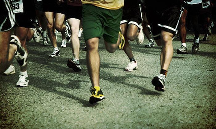 Aurora Fox River Trail Half Marathon - Downtown Aurora: 5K or Half Marathon for One or Two on Sunday, May 12 from USRA Half Marathon Series (Up to 63% Off)