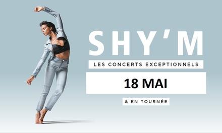 1 place en catégorie 1 ou 2 pour Shym, le vendredi 18 mai 2018 à 20h dès 25 € à la Cité des Congrès à Nantes