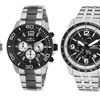 Invicta Men's Stainless Steel Chronograph Watches