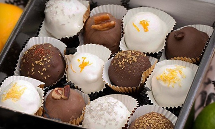 SugaPlump Pastries - Multiple Locations: One or Two Dozen Classic Cake Balls or Cake Pops at SugaPlump Pastries (Up to 54% Off)