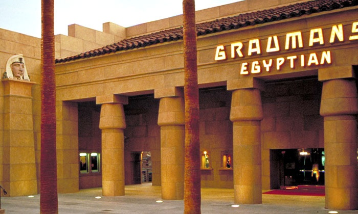 Aero Theatre or Egyptian Theatre - Multiple Locations: Movie, Soda, and Popcorn for Two or Four at American Cinematheque's Aero Theatre or Egyptian Theatre (Up to 57% Off)