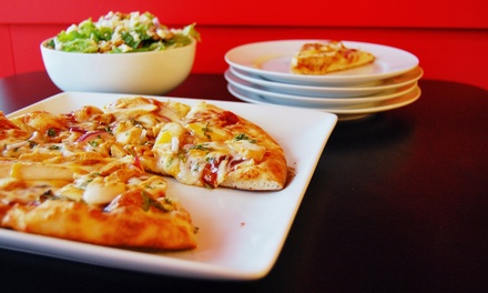 $11 for Two Groupons, Each Good for $10 Worth of Pizza and Salads at J's Pizza Market ($20 Value)