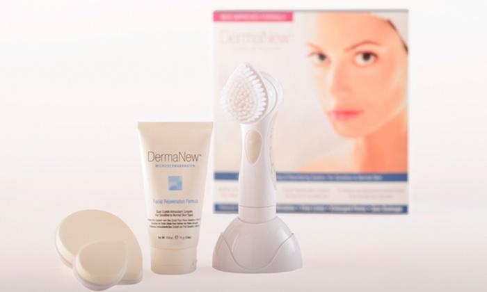 Dermanew facial rejuvenation system