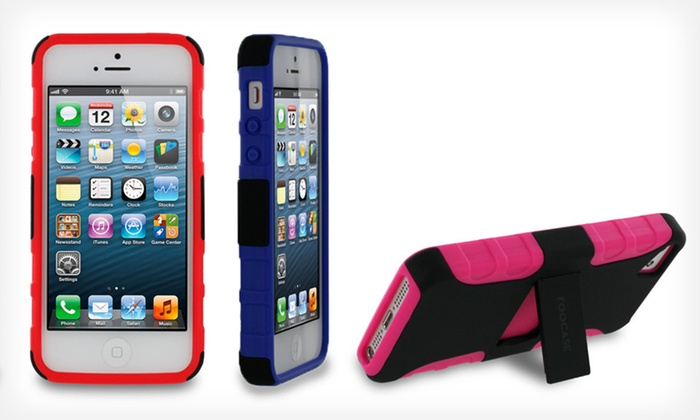rooCASE Hybrid TPU Shell Case for iPhone 5: $9 for a rooCASE Hybrid TPU Shell iPhone 5 Case ($29.95 List Price). 13 Options. Free Returns.