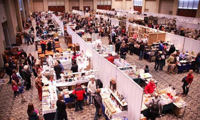 Grand Rapids Antiques Market - Belknap Lookout: $8 for a Weekend Visit to the Grand Rapids Antiques Market on January 4–5 at DeVos Place ($19.80 Value)