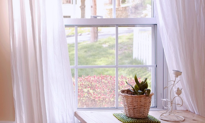 Drapery Designs - Gaithersburg: $261 for $581 Worth of Window Treatments at Drapery Designs