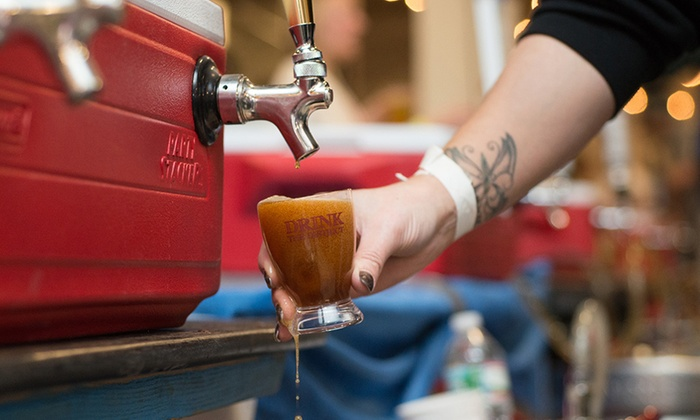 Drink the District - DOCK5 at Union Market : Ticket to President's Day Beer Bash by Drink the District (Up to 30% Off). Three Session Times Available.