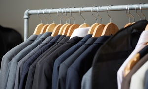 Butlers Dry Cleaning: Dry-Cleaning Services at Butlers Dry Cleaning (Up to 60% Off). Two Options Available.