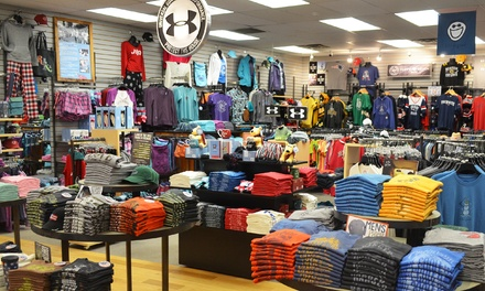 Apparel and Accessories at Life is Good Newport (50% Off). Two Options Available.