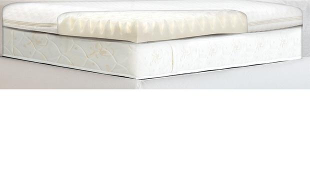 royal comfort memory foam mattress topper size double. Black Bedroom Furniture Sets. Home Design Ideas
