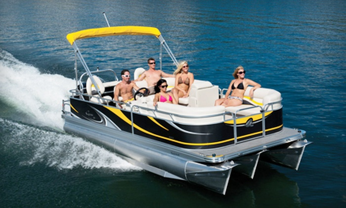 River City Boat Rentals - South Loop: Two-Hour BYOB Electric Boat Rental for Up to Seven (Up to 64% Off)