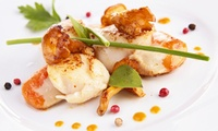 Menu bistronomique en 5 services pour 2 ou 4 personnes dès 59,99 € au restaurant Aux trois Petits Points