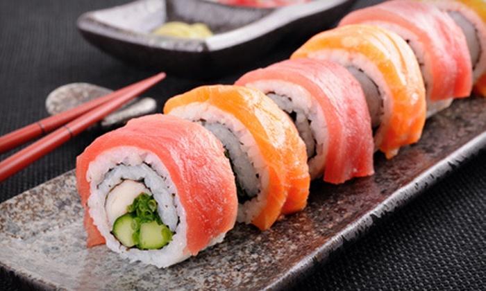 Sushi House - Jacksonville: $12 for $25 Worth of Sushi and Japanese Cuisine at Sushi House