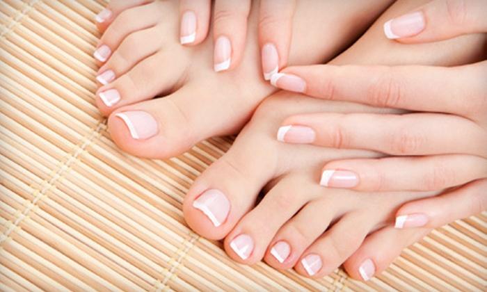 Salon Allure - Middletown: Spa Manicure or Pedicure at Salon Allure in Middletown (Half Off)