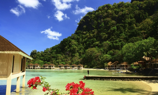 Palawan: 3D2N Stay with Breakfast + Flights + Island-Hopping Tour 1