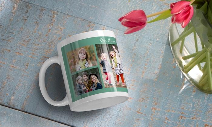 personalised photo mug groupon goods