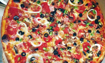 Pizzeria Food for Dine-In or Carryout at Greenville Avenue Pizza Company (Up to 50% Off)