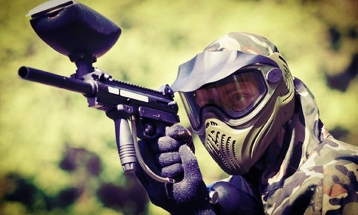 Phoenix Paintball Division - Athens: Paintball Outing with Equipment Rental for Two or Four at Phoenix Paintball Division (Half Off)
