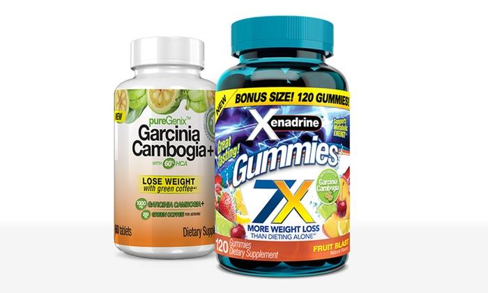 Xenadrine Gummies And Garcinia Cambogia Weight Loss Supplement