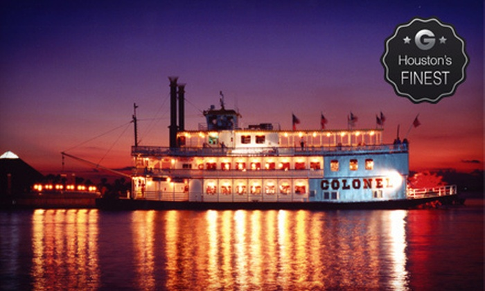 Moody Gardens - Galveston: Paddle-Wheel Boat Cruise for Two or Four at Moody Gardens (Up to Half Off)