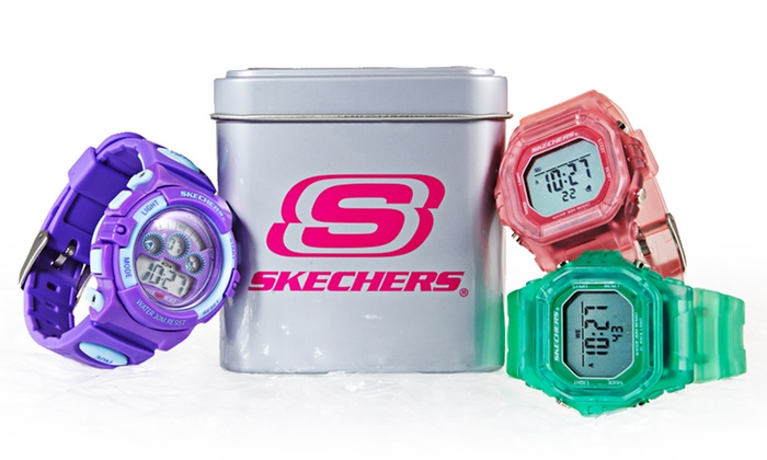Women's Digital Skechers Watches: $19.99 for Women's Digital Skechers Watch ($34.99 List Price). 13 Styles Available. Free Shipping and Returns.