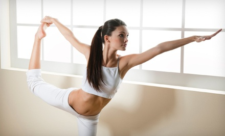 $30 for One Month of Unlimited Yoga Classes at Sonic Yoga ($130 Value)