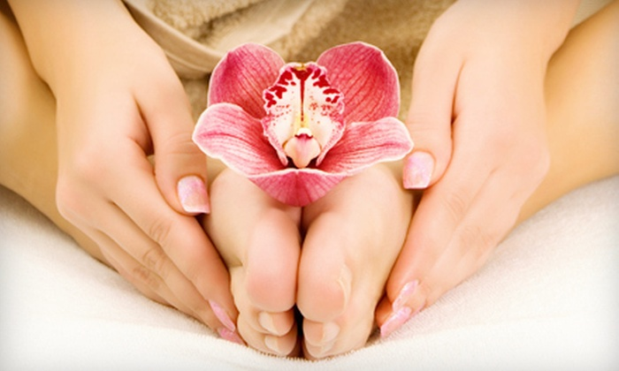 Solo Haven - Marietta: SoloRelaxation Mani-Pedi with Optional Hot-Stone Massage at Solo Haven (51% Off)