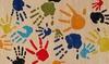 Momeni Lil Mo Whimsy Finger Paint Area Rug: Momeni Lil Mo Whimsy Finger Paint Area Rug
