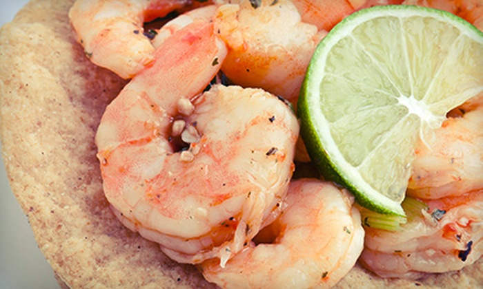 Delicioso Food Truck - Torrey Pines: Two or Four Groupons, Each Good for $10 Worth of Tex-Mex Food and Drink at Delicioso Food Truck (Half Off)