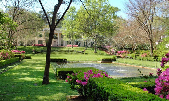 Bayou Bend Collection and Gardens - Washington Ave./ Memorial Park: Sip & Stroll Self-Guided Tour for Two or Four in October at Bayou Bend Collection and Gardens (Half Off)