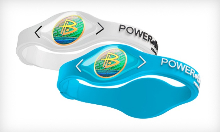 Authentic Power Balance Wristbands: $12 for Two Power Balance Silicone Wristbands ($59.98 List Price). Multiple Colors and Sizes Available.