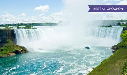 Stay with Family or Couples Package at Quality Inn & Suites Niagara Falls in Ontario. Dates into May.