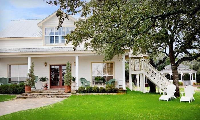 Serenity Farmhouse Inn - Houston: $199 for Two-Night Stay in a Cottage at Serenity Farmhouse Inn in Wimberley, TX (Up to $511 Value)