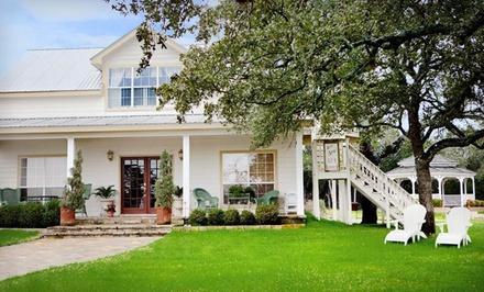 Two-Night Stay for Two in a Cottage with Daily In-Room Breakfast, Fresh Flowers, and Complimentary Bath Sundries - Serenity Farmhouse Inn in Wimberley